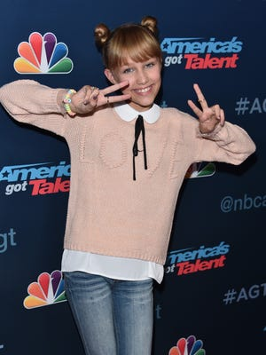 """Contestant Grace VanderWaal is ready for the  """"America's Got Talent"""" Season 11 finals, which begin Sept. 13."""
