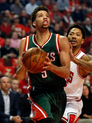 Michael Carter-Williams scored a team-high 22 points for the Bucks.