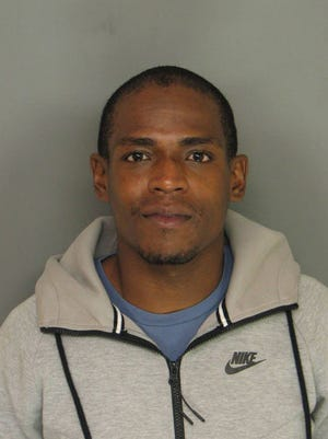 Noel Smith, 28, of Mount Vernon, is accused of pointing a .380-caliber automatic handgun  at a Mount Vernon police officer on Wednesday.