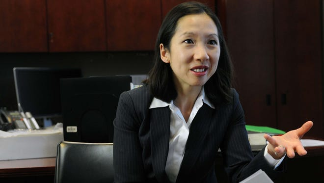 Leana Wen is the health commissioner for the Baltimore City Health Department.