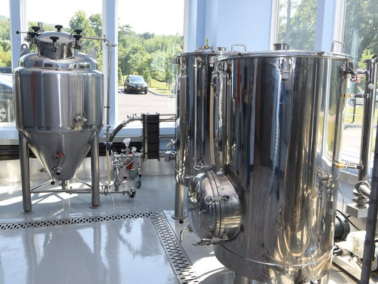A view of some of the other brewing machines produced