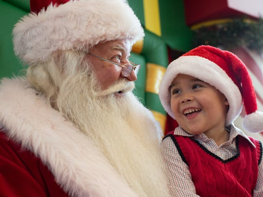 Get one last photo with Santa before unwrapping Christmas presents. La Palmera will host visits with Santa Claus through Dec. 24 in the Center Court during regular mall hours.  For more information, visit lapalmera.com or call 361-991-3755.