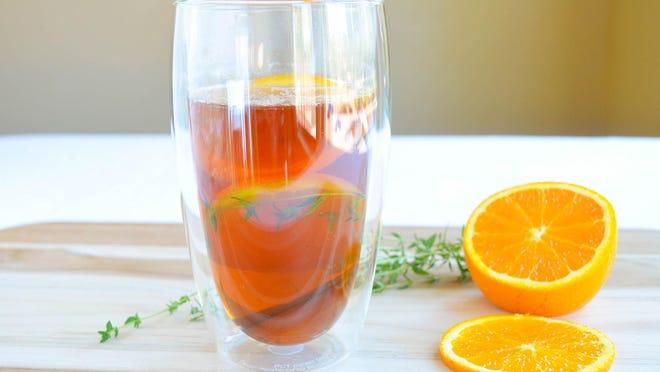 Cinnamon Citrus Tea