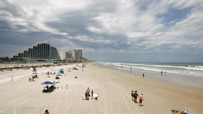 "Touted as the ""World's Most Famous Beach,"" Daytona beckons sunbathers with its 23 miles of hard-packed, white-sand beaches."