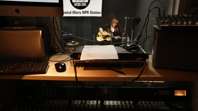Singer Gretchen Peters performs live on WCBE (90.5 FM) on Thursday, July 11, 2019.