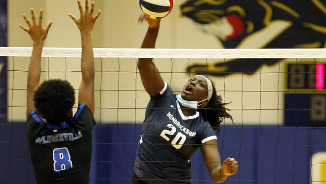 Kyra Dove and the Hendrickson volleyball team return to action this week after a coronavirus quarantine. The Hawks are trying to hold onto first place in District 18-5A in the final week of the regular season.