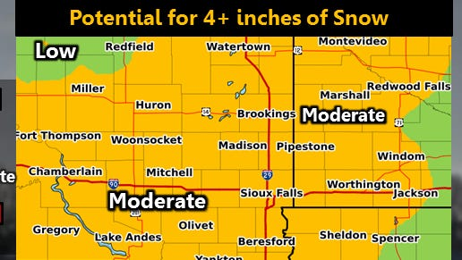 National Weather Service forecast for Wednesday night