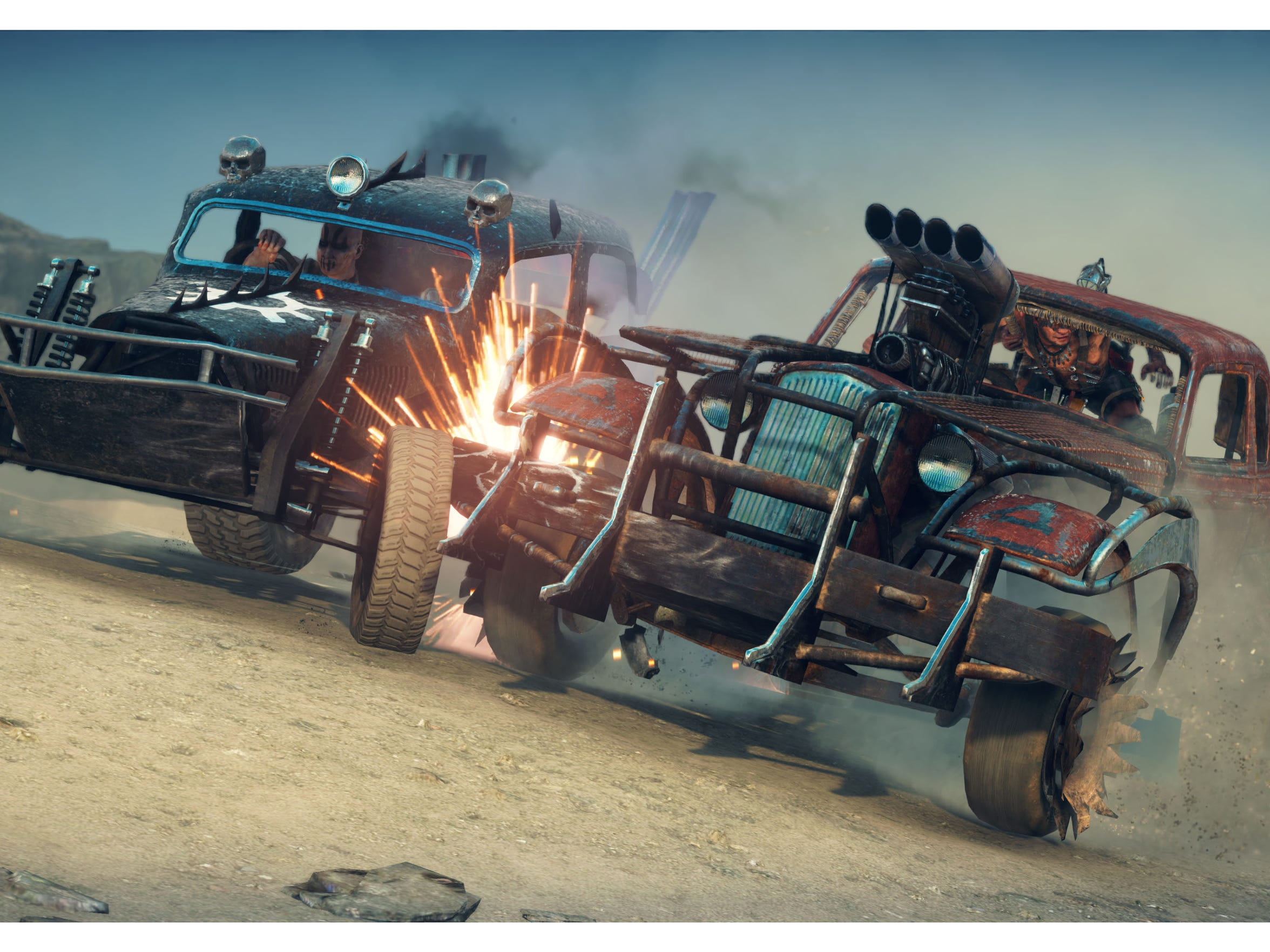 """Car combat is one of the best parts of the """"Mad Max"""" video game."""