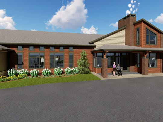 Rendering of Shady Lane's new Laurel Grove Assisted