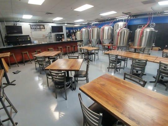 Lochiel Brewing in Mesa is now open.