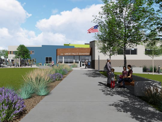 Draft of the Roosevelt replacement school