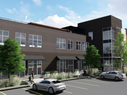 The next mixed-use building in the West Bank Landing development should be under construction in the next 60 days.