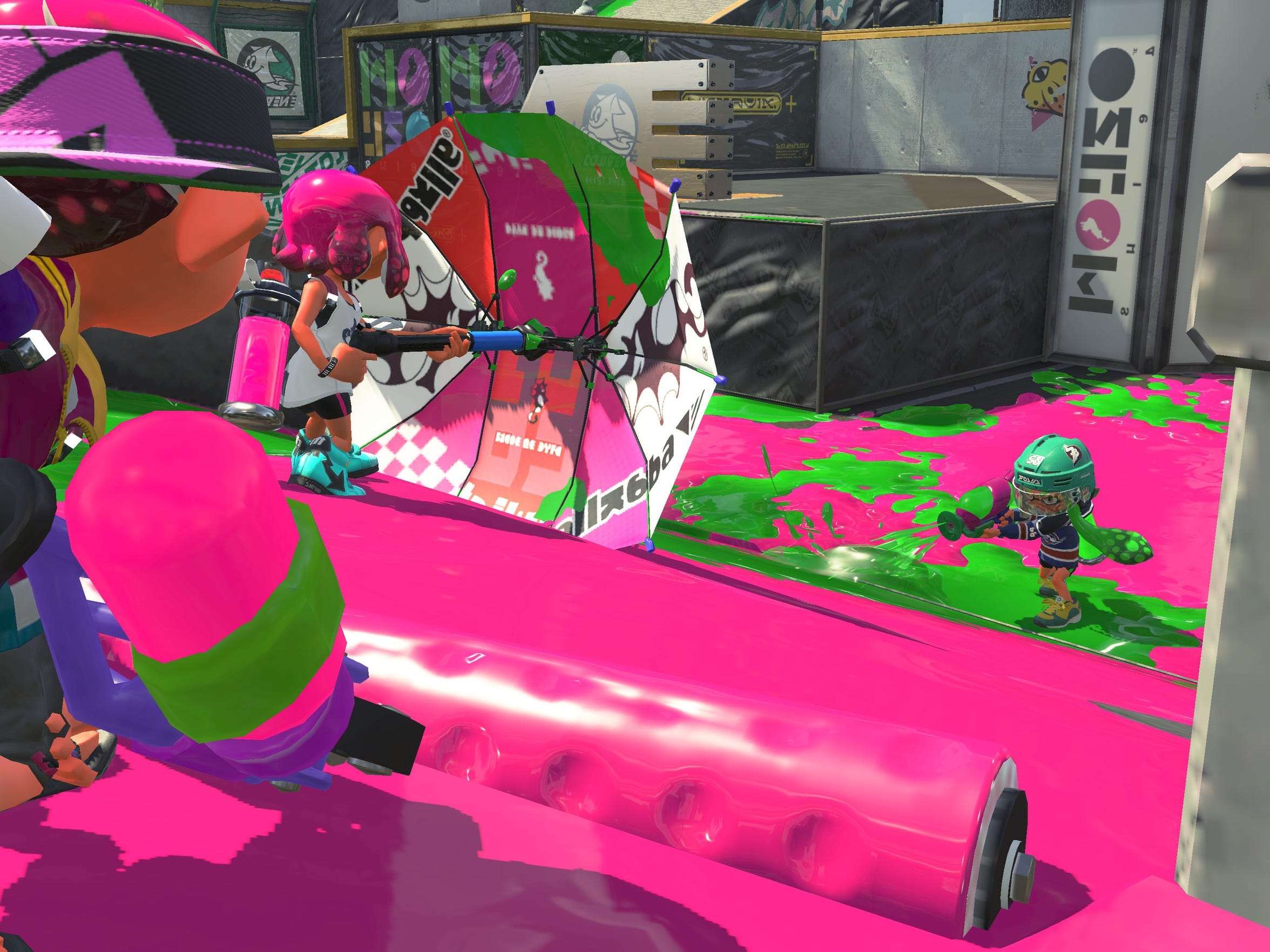Splatoon 2 for the Nintendo Switch.