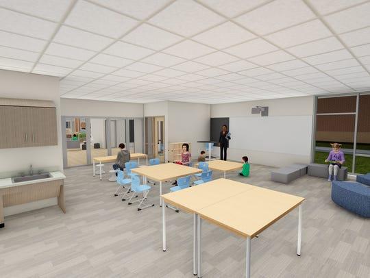 A rendering of Hamilton Southeastern Schools' plans