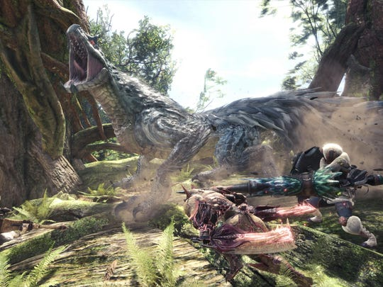 Monster Hunter World's Tobi-Kadachi is literally electrifying. It provides one of the better low-rank armors, too.