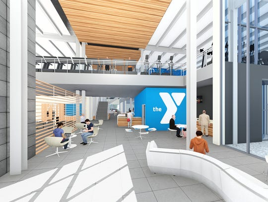 Plans for the YMCA in the new facility shared with