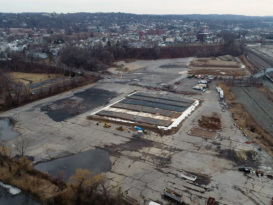 The east parcel of the former General Motors site in