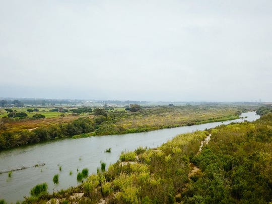 The Santa Clara River in Ventura County.