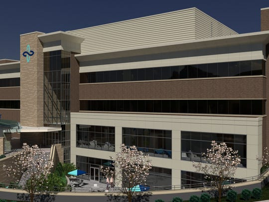 A view of the planned new Family Care Center at Knox