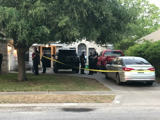 Corpus Christi police responded to a call for a shooting