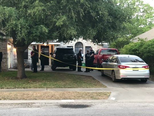Corpus Christi police responded to a call for a shooting Monday in the 4400 block of Silver Hollow Drive, near Yorktown Boulevard. One man was killed and a woman was arrested on suspicion of murder.
