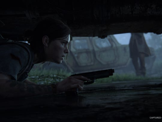 """A scene from the video game """"The Last of Us Part II."""""""