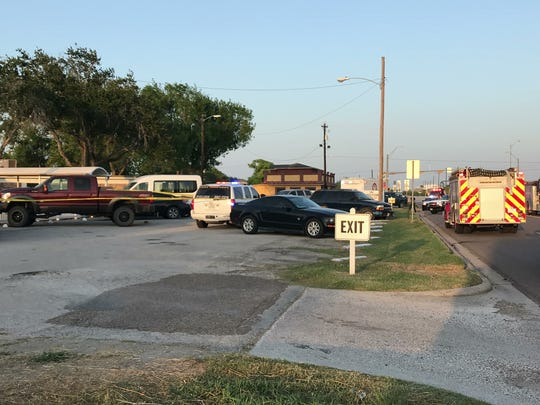 Multiple law enforcement agencies are at a nursing home in robstown after reports of a shooting.