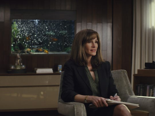 "Julia Roberts as Heidi in ""Homecoming."""