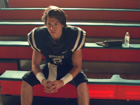"""Tanner Stine stars as Zach getting ready for the big game in """"Run the Race."""""""
