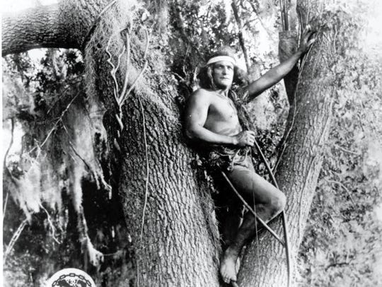 The original Tarzan, Elmo Lincoln