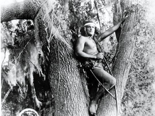 The original Tarzan, Elmo Lincoln