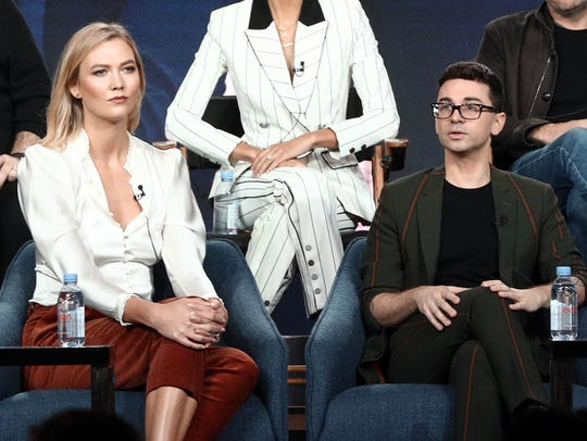 "Karlie Kloss and Christian Siriano, speak on the ""Project"