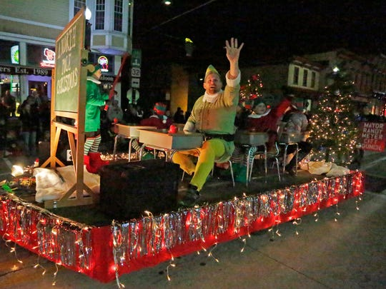 Scenes from the Sheboygan Falls Holiday Parade in 2017 in Sheboygan Falls.