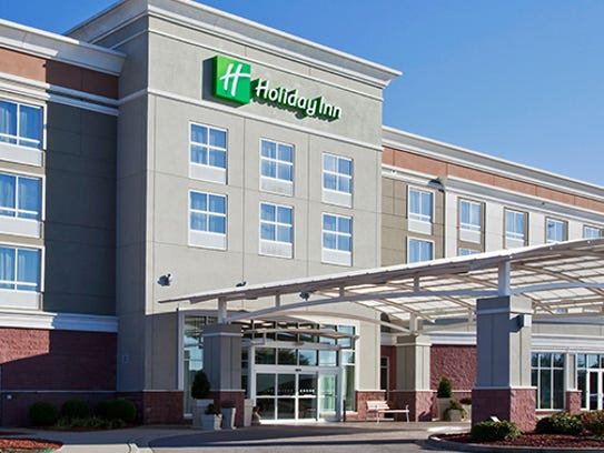 A new Holiday Inn will rise in Grand Chute this year.
