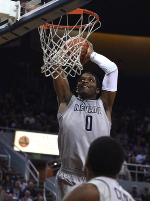 Nevada's Cameron Oliver is the 15th player in school history to be drafted by the NBA.