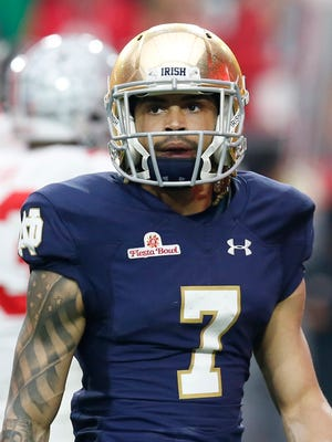 Notre Dame wide receiver Will Fuller.