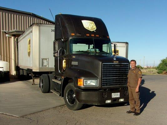 UPS Driver Retires