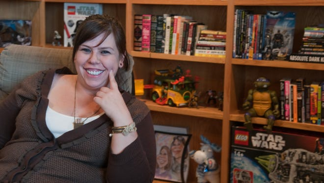 Amanda Hocking's sales of her self-published e-books inspired a publisher to sign her.
