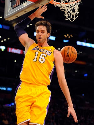 Lakers center Pau Gasol had a strong preseason.