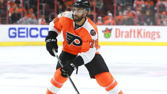 Pierre-Edouard Bellemare has had a bigger role with the team's defense with Sean Couturier out of the lineup.