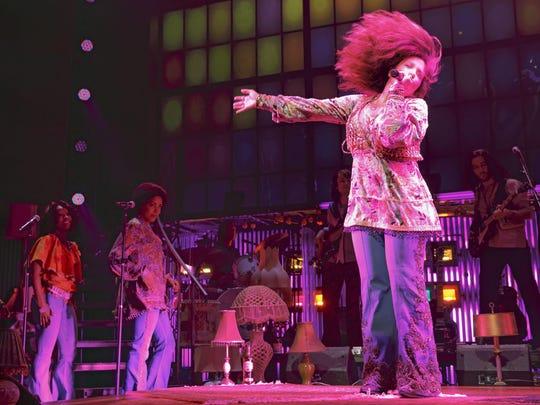 "Mary Bridget Davies brings her Tony-nominated Broadway show ""A Night with Janis Joplin"" to Visalia."