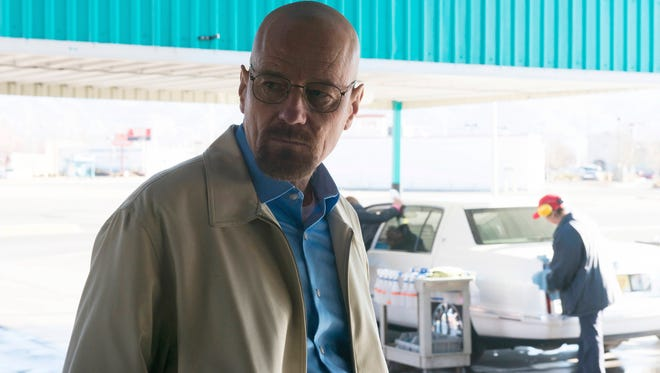 "Walter White (Bryan Cranston) in one of the final episodes of ""Breaking Bad."""