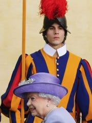 Queen at Vatican