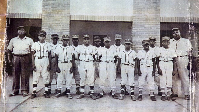 The 1955 Pensacola Jaycees Little League Baseball team was made up of all-stars from four different Pensacola teams.