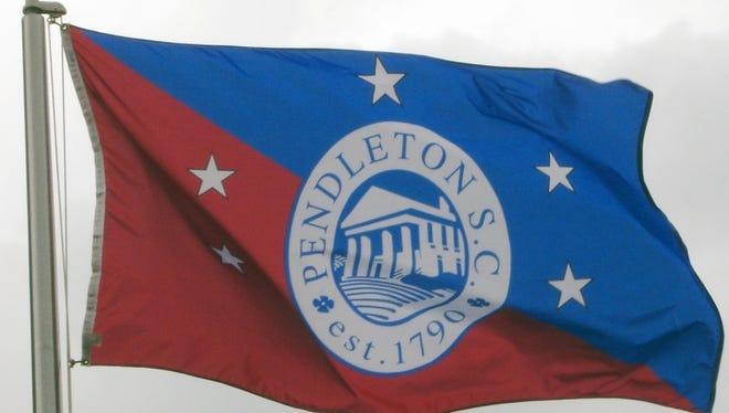 Pendleton town flag