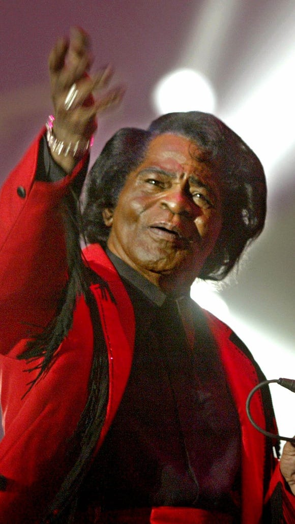 "James Brown, the ""Godfather of Soul,"" had a profound influence on American music through his songs and performances."