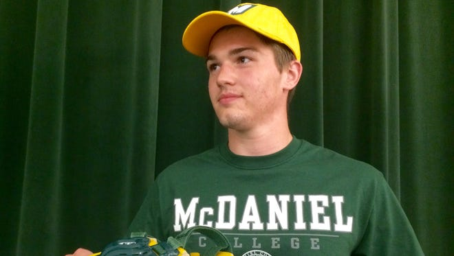 Mardela's Chase Bowden will wrestle at Division III McDaniel College next year.