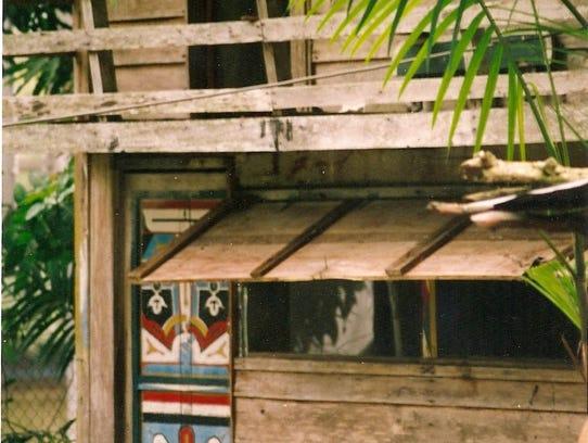 Janina Rubinowitz' home in Suriname