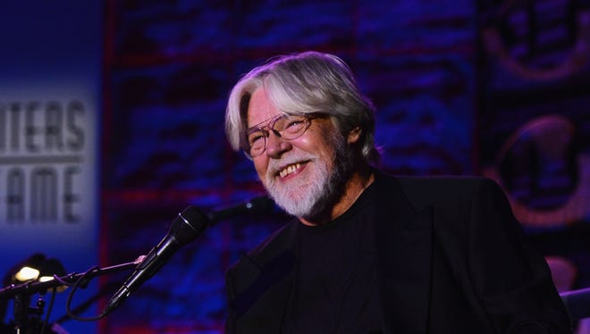 Bob Seger performs during his induction into the Songwriters Hall of Fame in New York on June 14, 2012. (Photo by Larry Busacca/Getty Images for Songwriters Hall Of Fame)