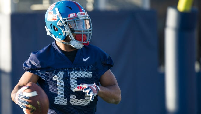 Myles Hartsfield spent all last season at safety, but transitioned to corner this spring.